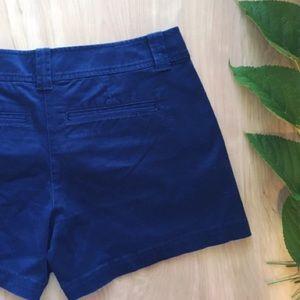 New York & Company Navy Shorts